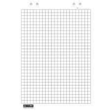 Бумага для флипчартов, 20 листов, клетка, 64 х 90см