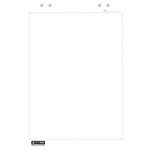Блок бумаги для флипчартов, 20 листов, 64 х 90см