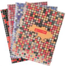 Книга канцелярская MOSAIC, А4, 80 листов, клетка