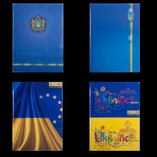 Книга канцелярская UKRAINE, А4, 96 листов, клетка