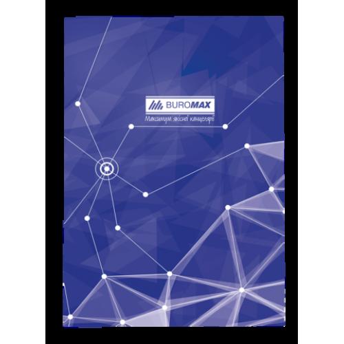 Книга канцелярская PYRAMIDS, А4, 96 листов, клетка, синий
