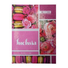 Книга канцелярская BOHO CHIC , 96л, офсет, лин. (тв. лам. переплет)