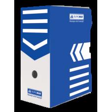 Бокс для архивации документов 150 мм, BUROMAX, синий