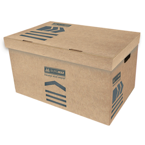 Короб для архивных боксов, JOBMAX, крафт