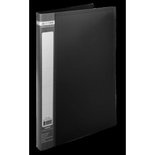 Папка пластиковая А4 со скоросшивателем, JOBMAX, черный