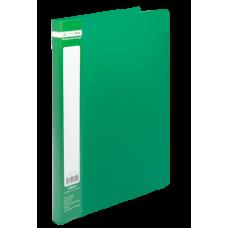 Папка пластиковая А4 со скоросшивателем, JOBMAX, зеленый