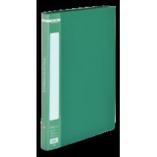 Папка пластиковая A4 со скоросшивателем, зеленый