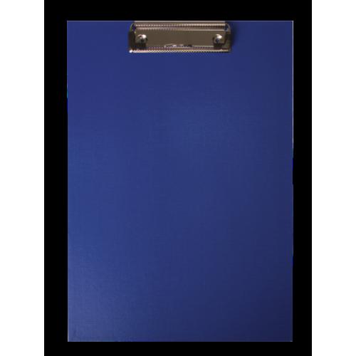 Клипборд BUROMAX, А4, PVC, темно-синий