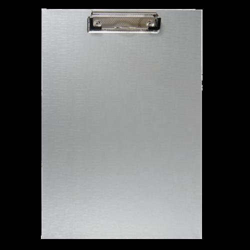 Клипборд BUROMAX, А4, PVC, серый