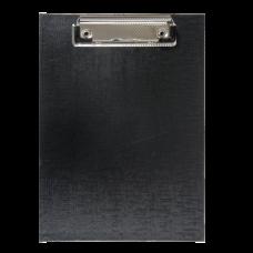 Клипборд BUROMAX, А5, PVC, черный