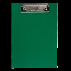 Клипборд BUROMAX, А5, PVC, зеленый