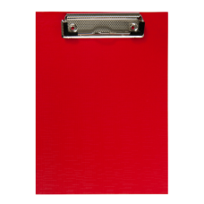 Клипборд BUROMAX, А5, PVC, красный