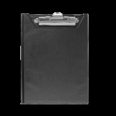 Клипборд-папка BUROMAX, А5, PVC, черный