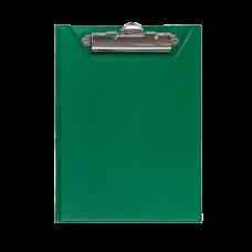 Клипборд-папка BUROMAX, А5, PVC, зеленый
