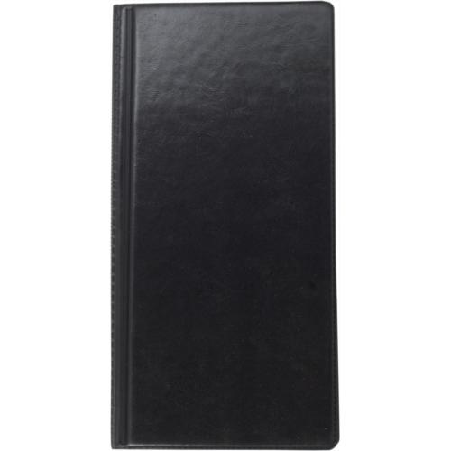 Визитница виниловая BUROMAX на 96 визиток, черный