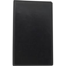 Визитница виниловая BUROMAX на 200 визиток, черная