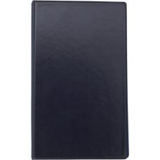 Визитница виниловая BUROMAX на 200 визиток, темно-синий