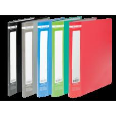 Папка с 10 файлами А4, JOBMAX, ассорти