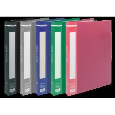 Папка c 20 файлами А5 BUROMAX, ассорти