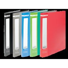 Папка с 20 файлами А4 JOBMAX, ассорти