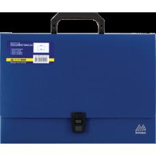 Портфель A4/35мм, JOBMAX, синий