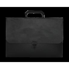 Портфель A4/35мм, JOBMAX, черный
