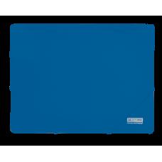 Папка пластиковая А4 на резинках, JOBMAX, синий