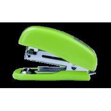 """Степлер пластиковый """"МИНИ"""" BUROMAX, 10 листов, (скобы №10), светло-зеленый"""
