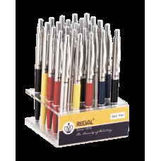 Дисплей с 25 шариковыми ручками, ассорти