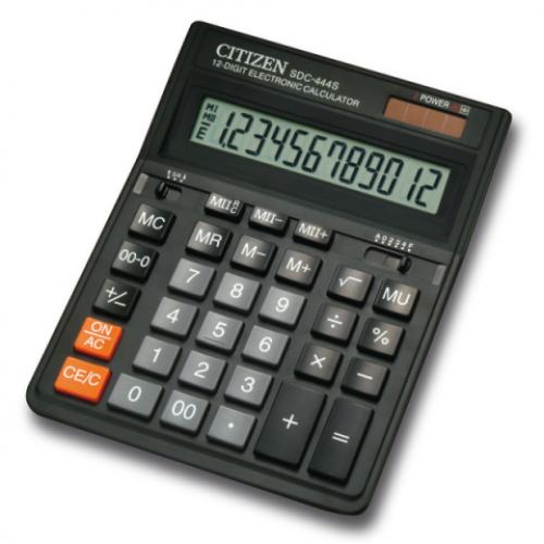 Калькулятор Citizen SDC-444S, 12 разрядов