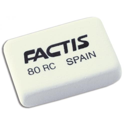 Ластик 80RC мягкий из белого синтетического каучука, неабразивный