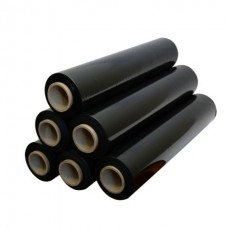 Стретч пленка 20мкм 250мм 0,9кг  (черная)