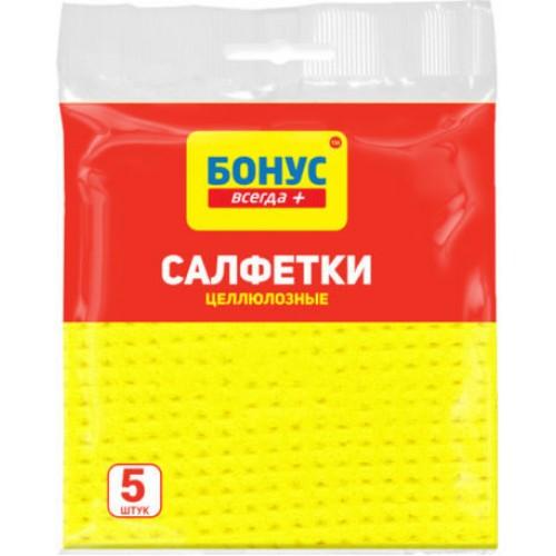 Cалфетки Бонус вискозные 5 шт