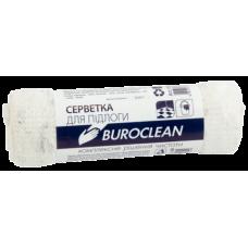 Салфетка для пола х/б, 50х70см, белая, Buroclean