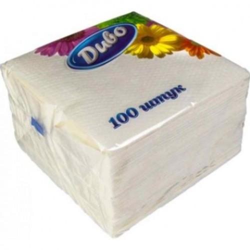 Салфетки бумажные Диво 240*240 100 шт.
