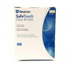 Перчатки хирургические Safe Touch Clean Bi-Fold, стерильные, без пудры, S, M, L