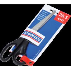 Ножницы офисные 20.5см, пластиковые ручки, открытый блистер