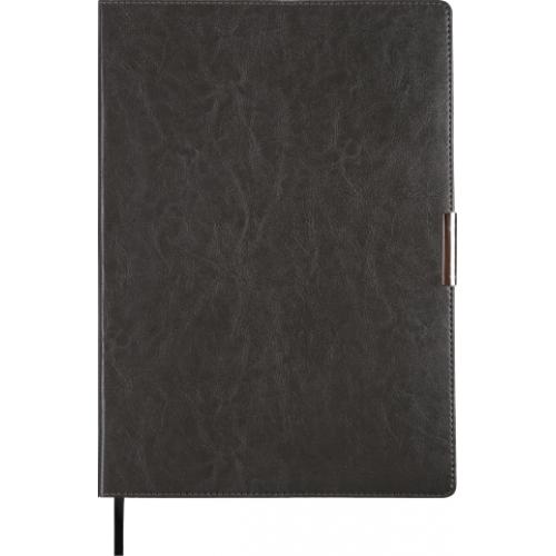 Ежедневник датированный 2019 SALERNO, A4, 336 стр. серый