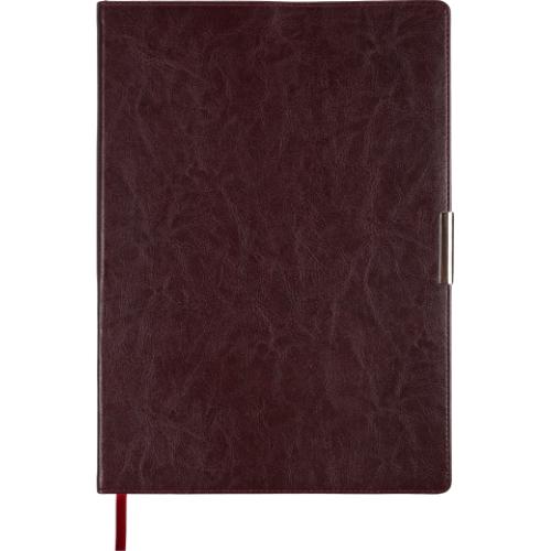 Ежедневник датированный 2019 SALERNO, A4, 336 стр. бордовый