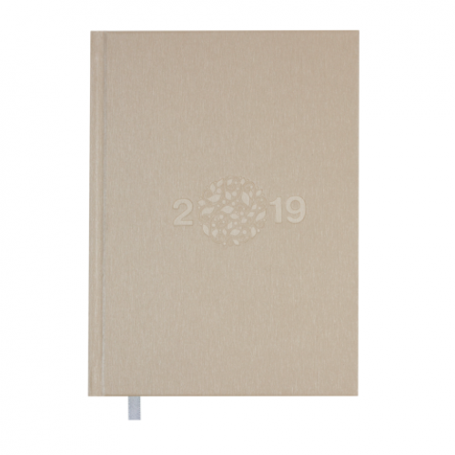 Ежедневник датированный 2019 GLORY, A5, 336 стр., золотой