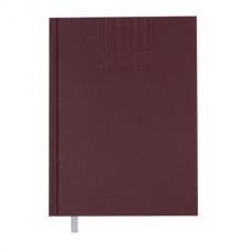Ежедневник датированный 2019 BRILLIANT, A5, 336 стр., бордовый