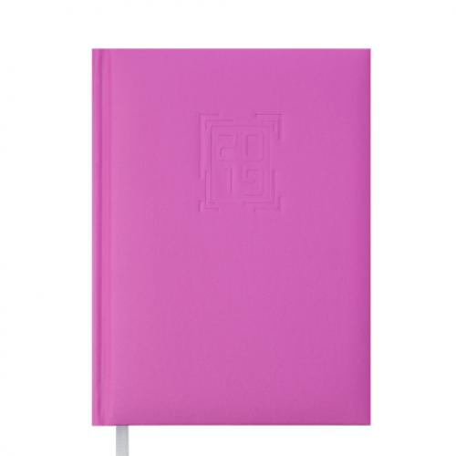 Ежедневник датированный 2019 MEMPHIS, A5, 336 стр., розовый