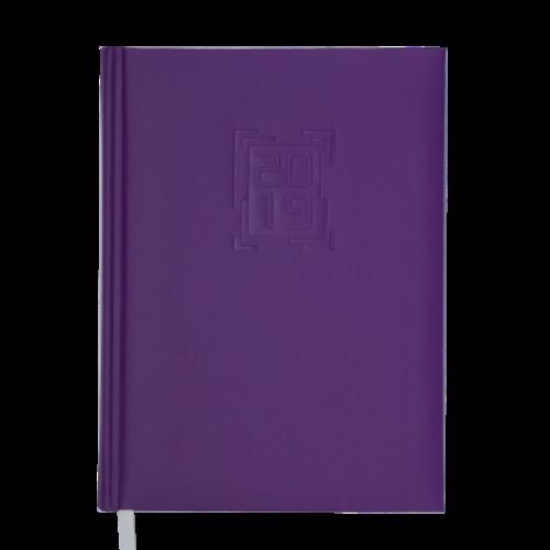 Ежедневник датированный 2019 MEMPHIS, A5, 336 стр., сиреневый