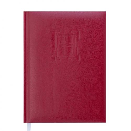 Ежедневник датированный 2019 REDMOND, A5, 336 стр., бордовый