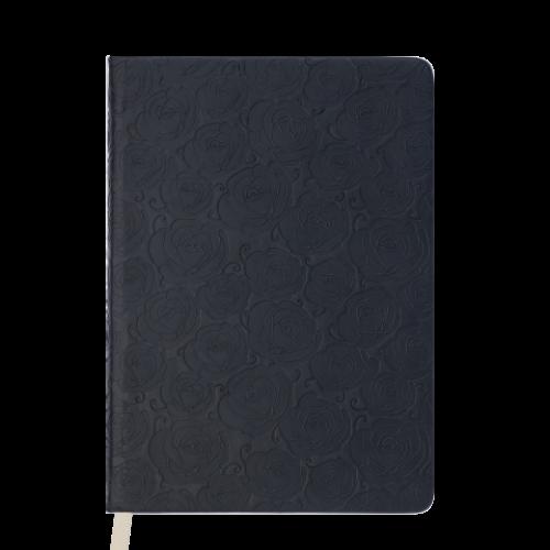 Ежедневник датированный 2019 FLEUR, A5, 336 стр., черный