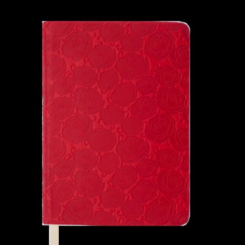 Ежедневник датированный 2019 FLEUR, A5, 336 стр., красный