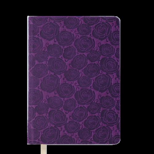 Ежедневник датированный 2019 FLEUR, A5, 336 стр., вишневый