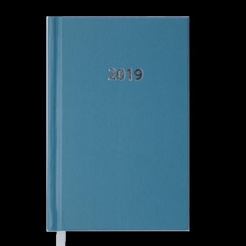 Ежедневник датированный 2019 STRONG, A6, 336 стр., голубой