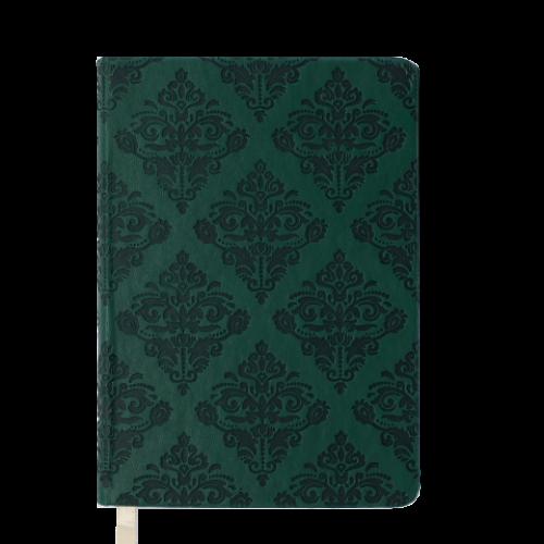 Ежедневник датированный 2019 CASTELLO VINTAGE, A6, 336 стр., т.-зеленый
