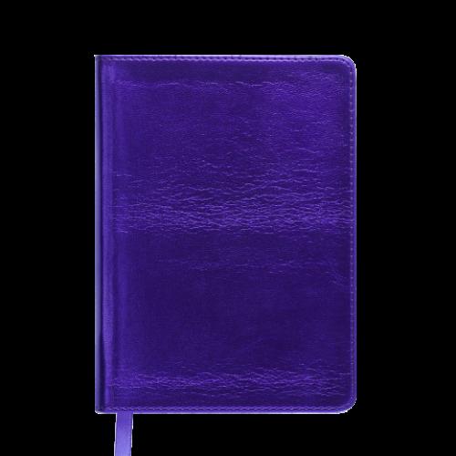Ежедневник датированный 2019 METALLIC, A6, фиолетовый